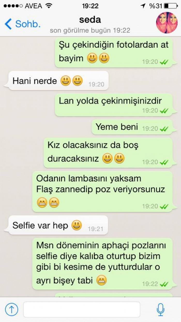 Whatsap Ask Durumlari