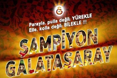 Şampiyon Galatasaray Resimleri