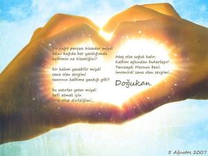 sevgiliye sevgi sözleri