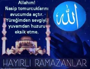 Hayırlı Ramazanlar Resimli Güzel