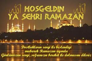 Hoşgeldin Ramazan Yeni
