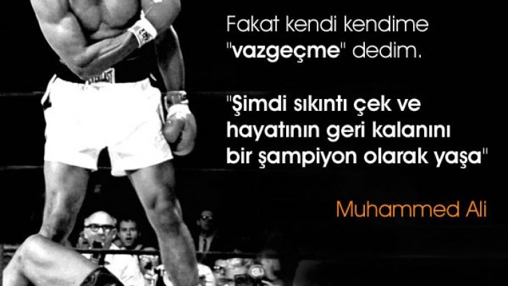 Muhammed Ali Sözleri Resimli