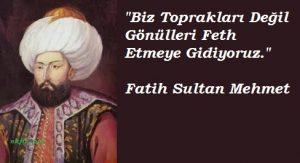 fatih sultan mehmed sözleri facebook