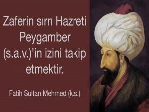 fatih sultan mehmet sözleri facebook