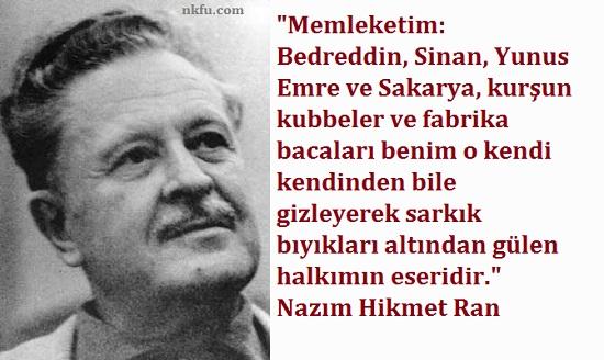 Erdoğandan Nazım Hikmet şiiri 49