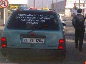 araba arkası yazıları anlamlı