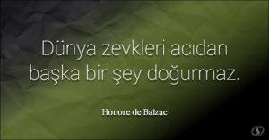 Balzac Sözleri Anlamlı