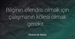 Balzac Sözleri Güzel