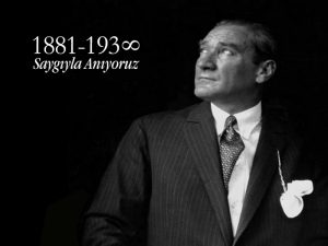 10 Kasım Mustafa Kemal