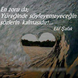 Elif Şafak Aşk Sözleri