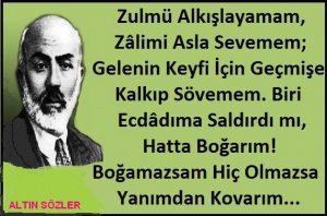 Mehmet Akif Ersoy Şiirleri Anlamlı