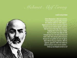 Mehmet Akif Ersoy Şiirleri Güzel