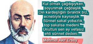 Mehmet Akif Ersoy Sözleri kapak