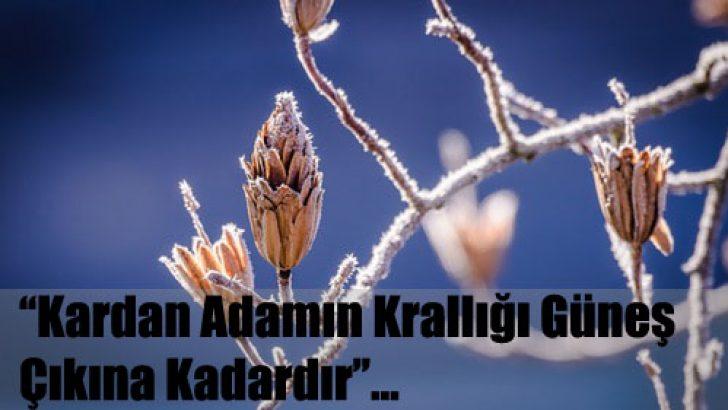 Kış Mevsimi İle İlgili Güzel Sözler
