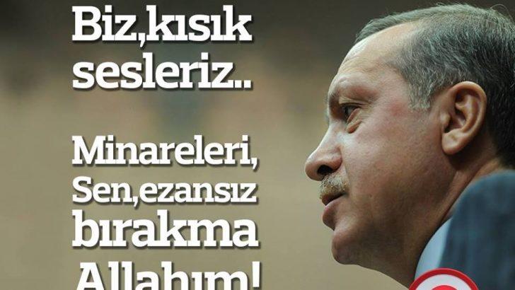 Recep Tayip Erdoğan Sözleri