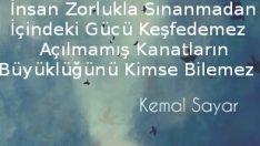 Kemal Sayar Sözleri