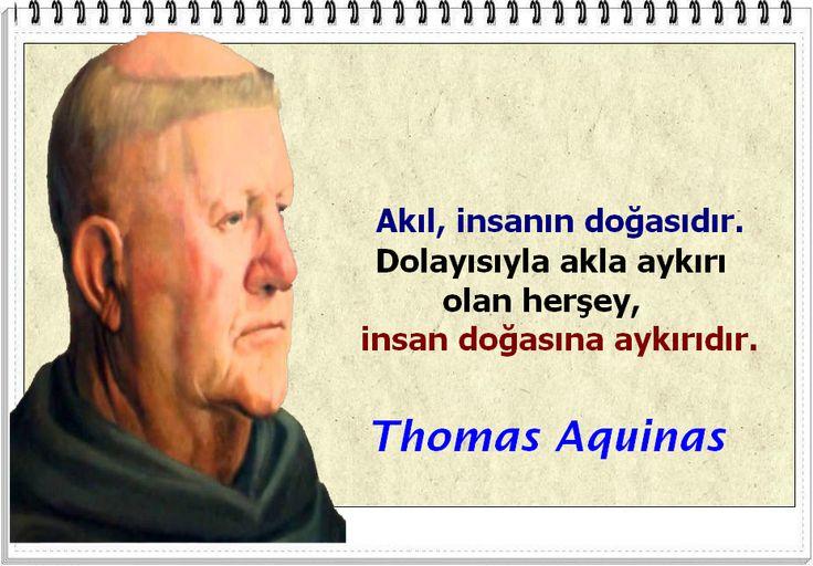 Thomas Aquinas Sözleri