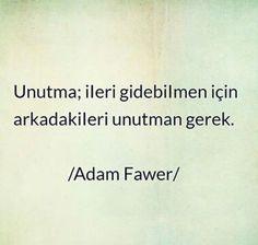 Adam Fawer Sözleri