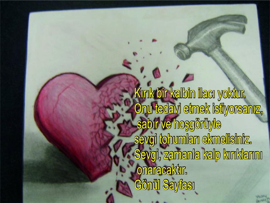 Kırık Kalp Sözleri