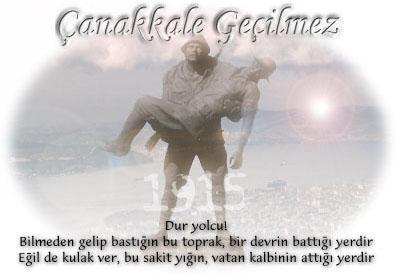 Çanakkale Türkü Sözleri